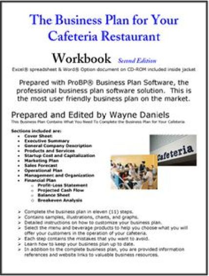 Restaurant Business Plan example 1641