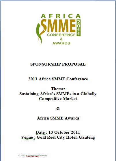 sponsorship package template