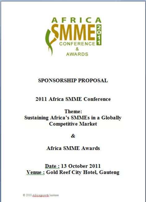21  free sponsorship proposal template