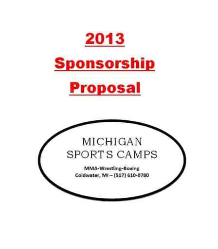 Sponsorship Proposal sample 12.641