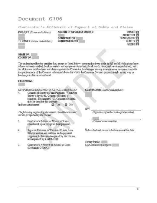 affidavit form example 79841