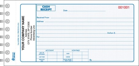 cash receipt example 22.451