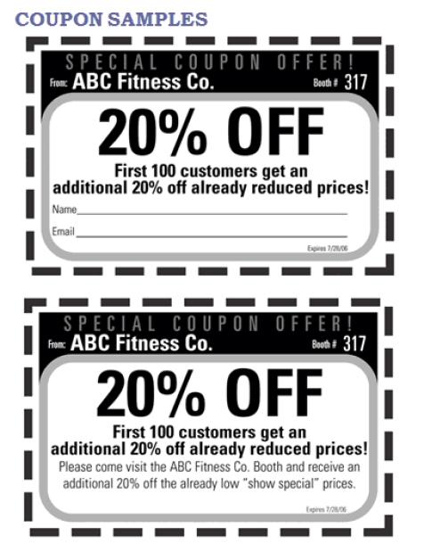 coupon template 2641