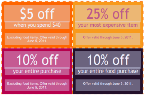 coupon template 3941