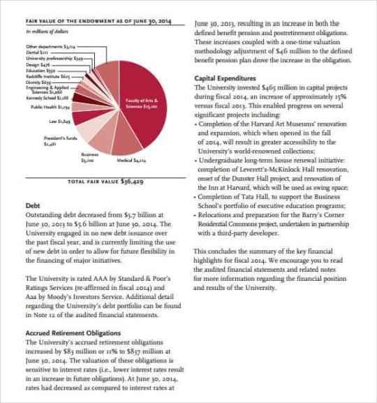 financial report template 491