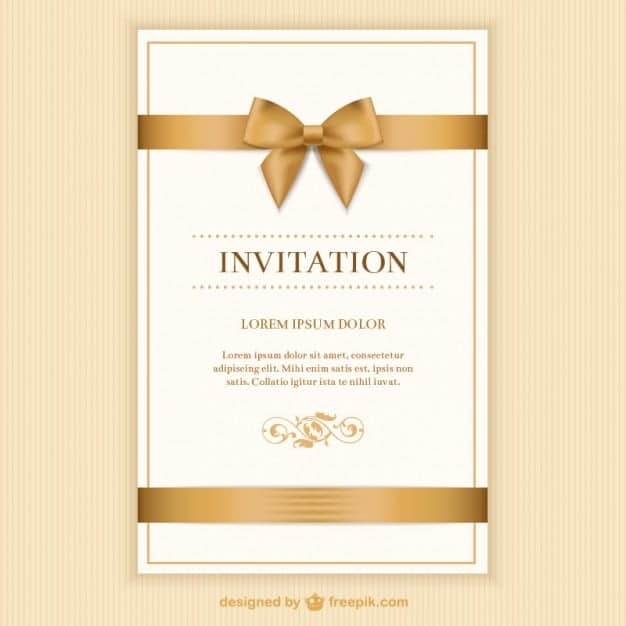 21+ Free Wedding Invitation Template - Word Excel Formats