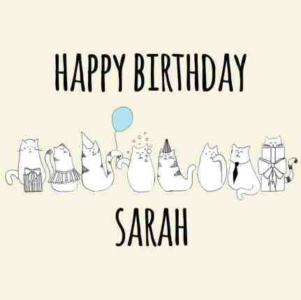 happy birthday card example 7461