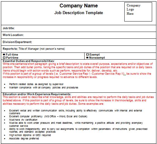 job description template 1641