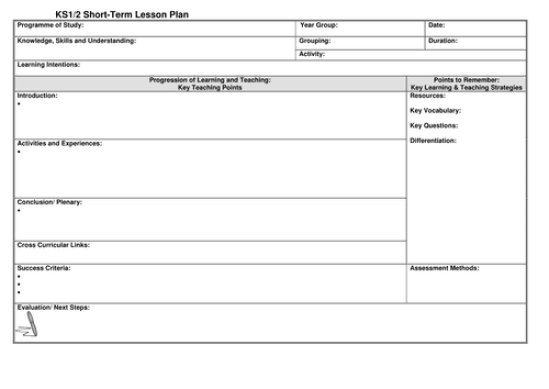 lesson plan example 99741