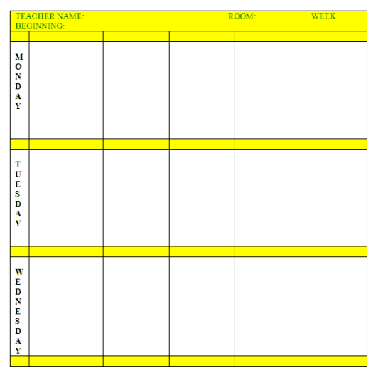 lesson plan template 49741