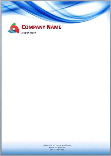33 free letterhead templates in word excel pdf for Free letterhead template word