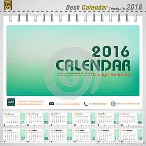 office calendar sample 15.4