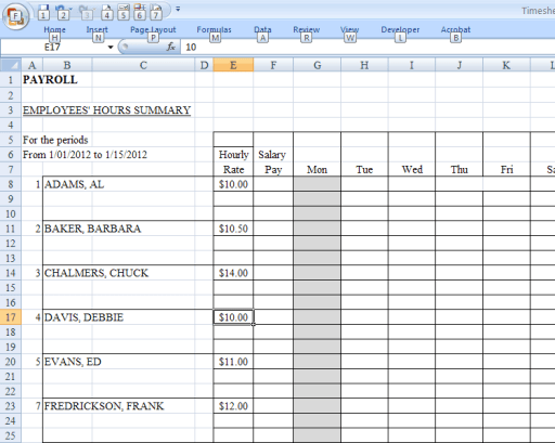 payroll sample template 16.41