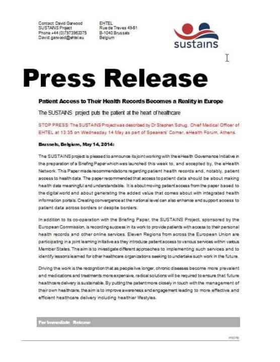 press release sample 17.641