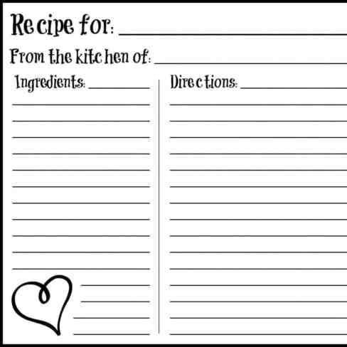 recipe card sample 14.041