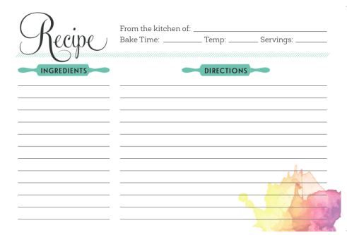 recipe card sample 16.41