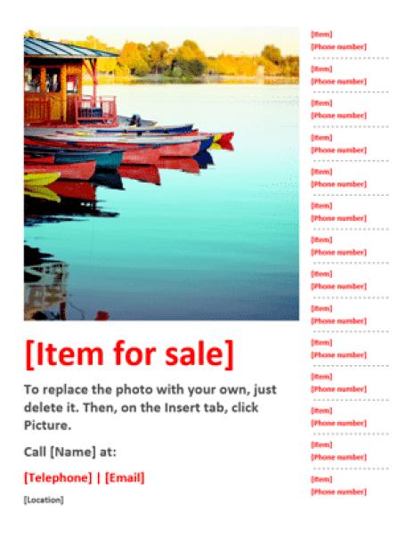sale flyer template 3941