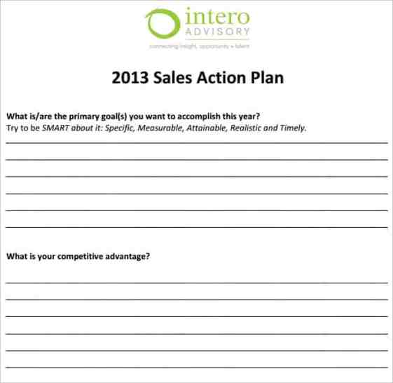sales plan template 1
