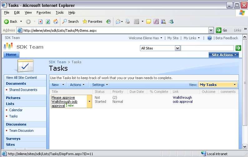 task list example 22.641