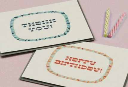 thank you card sample 29641