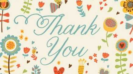 thank you card sample 7461