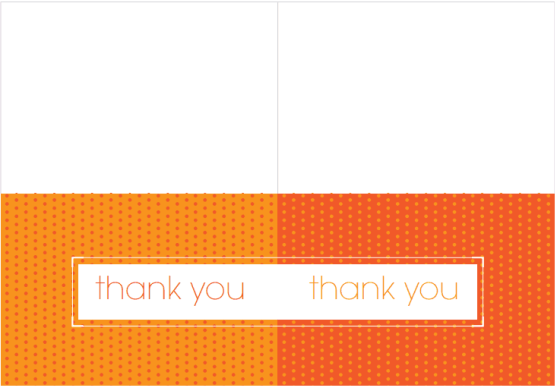 thank you card template 3641