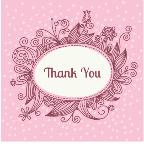 thank you card template 5946