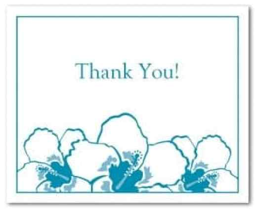 21  free thank you card template