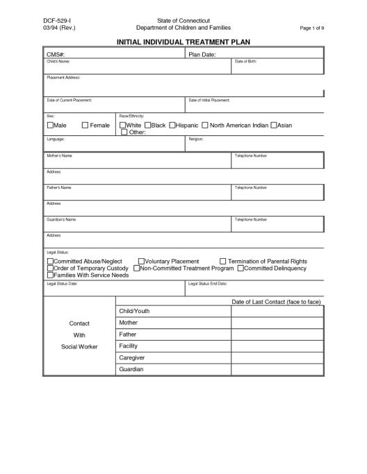 treatment plan example 19.41