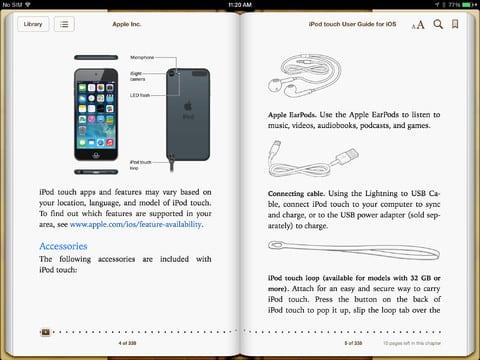 user manual sample 241