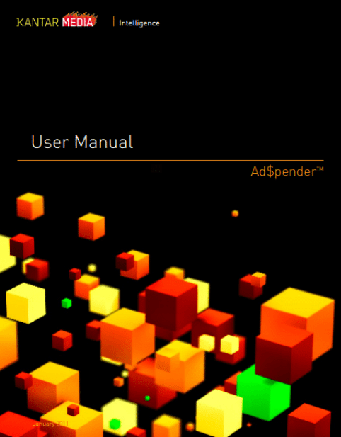 user manual template 541