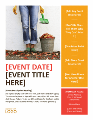 event flyer example