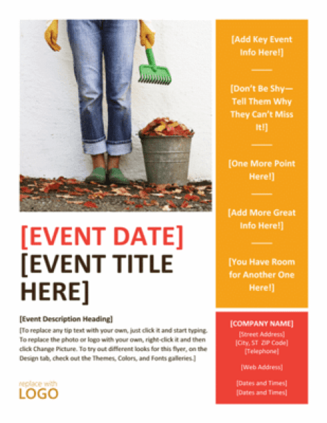 word flyer example 1461