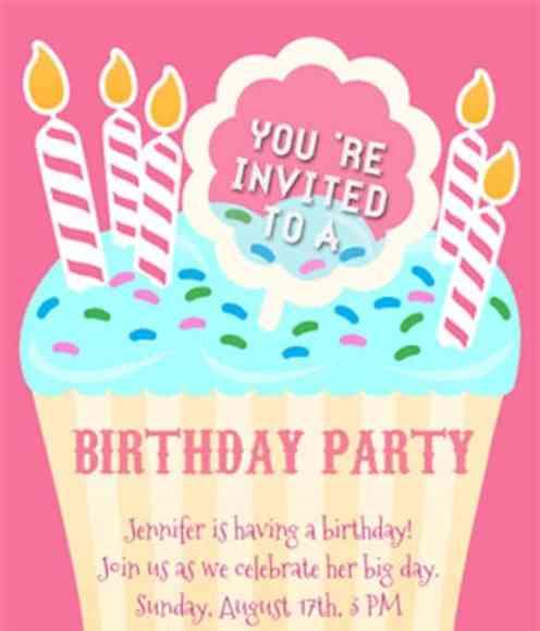 21 free birthday invitation template word excel formats birthday invitation sample 8941 stopboris Images