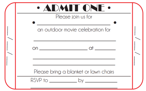 21 free ticket invitation template word excel formats