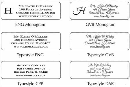 mailing address label templates
