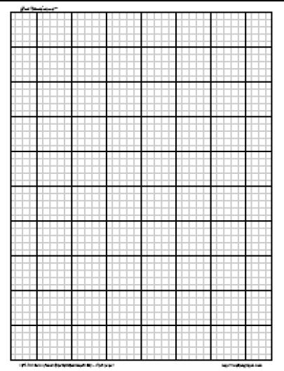 graph paper sample 761