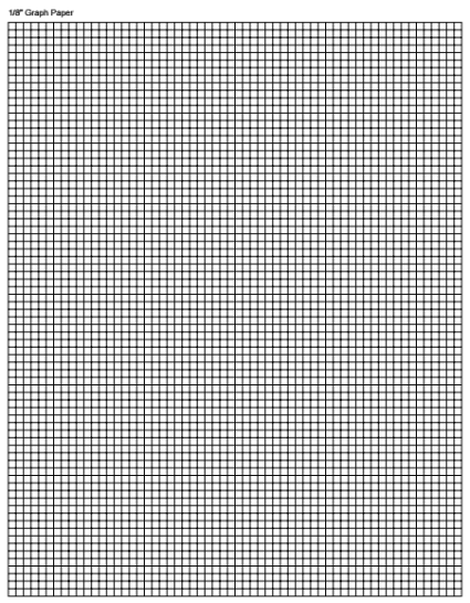 graph paper template 2941