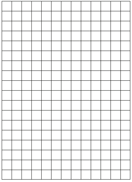 graph paper template 5461