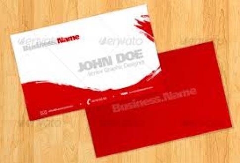 name card sample 4941