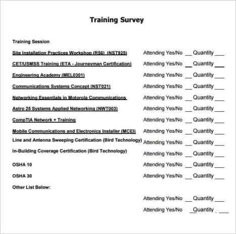 sample survey 3461