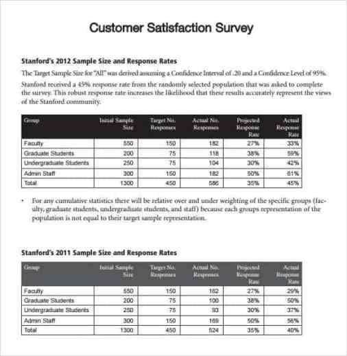 sample survey template 4961