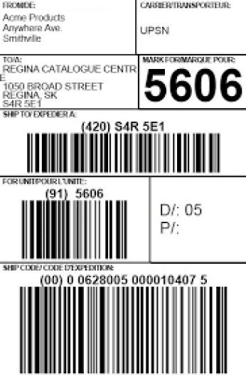 shipping label sample 16.41