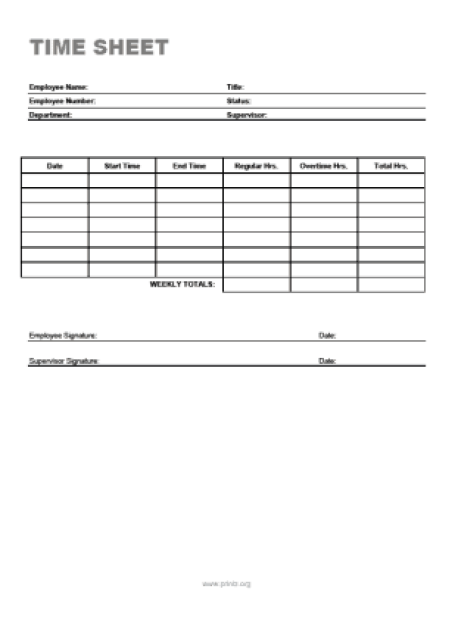 time sheet sample 441