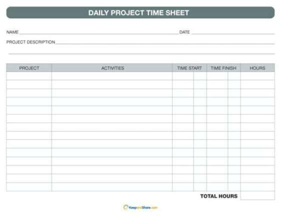 time sheet sample 69641