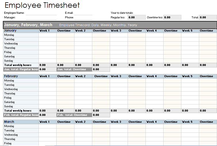 21 Free Time Sheet Template Word Excel Formats – Time Sheet Template