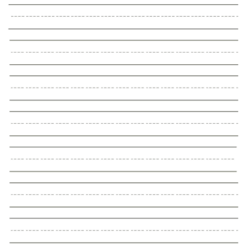 writing paper template 4941