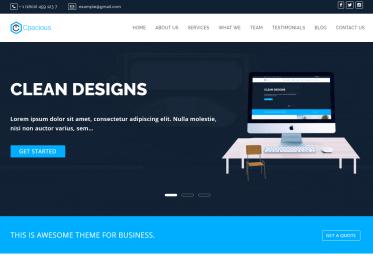 Business and Corporate WordPress Theme