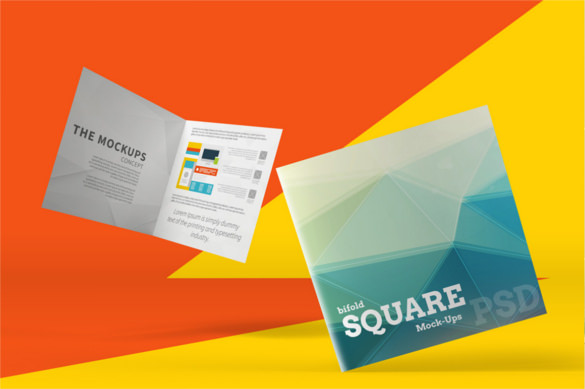 Bi Fold Brochure Templates  2641