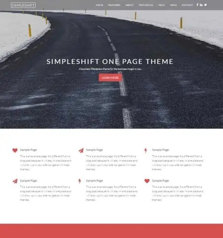 Bootstrap Blog Templates 74